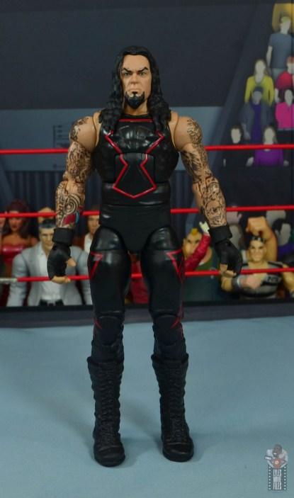 wwe hall of champions undertaker figure review - front