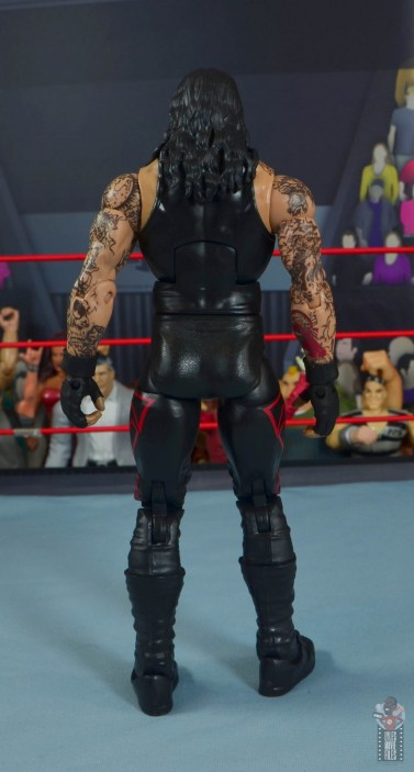 wwe hall of champions undertaker figure review - rear