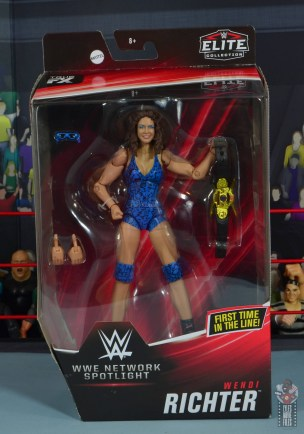 wwe network spotlight wendi richter figure review - package front