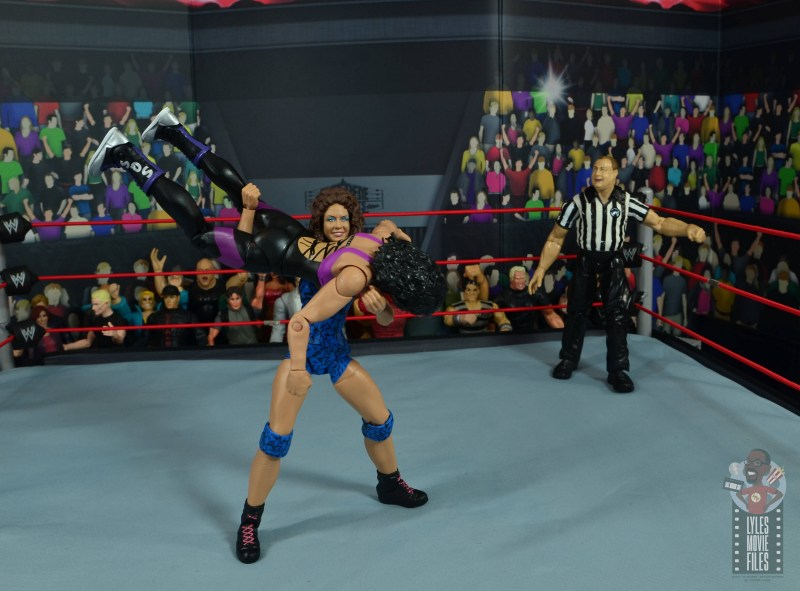 wwe network spotlight wendi richter figure review - slamming sherri martel