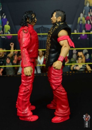 wwe ultimate edition shinsuke nakamura figure review - facing defining moments nakamura