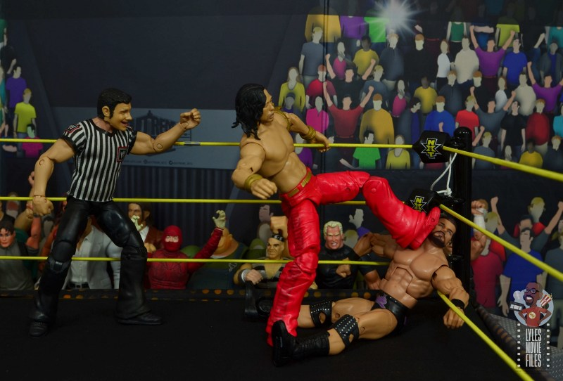 wwe ultimate edition shinsuke nakamura figure review - foot wash