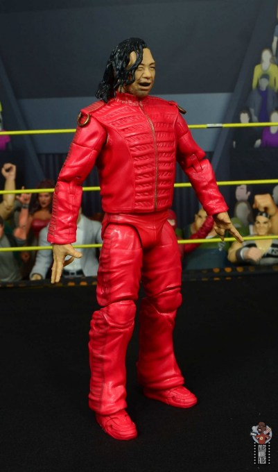 wwe ultimate edition shinsuke nakamura figure review - right side