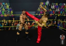 wwe ultimate edition shinsuke nakamura figure review -spinning kick to bobby roode