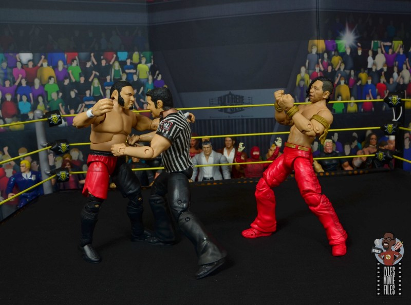 wwe ultimate edition shinsuke nakamura figure review - taunting samoa joe