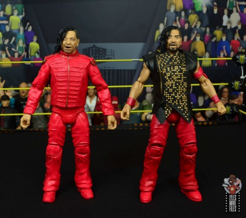 wwe ultimate edition shinsuke nakamura figure review - with defining moments nakamura
