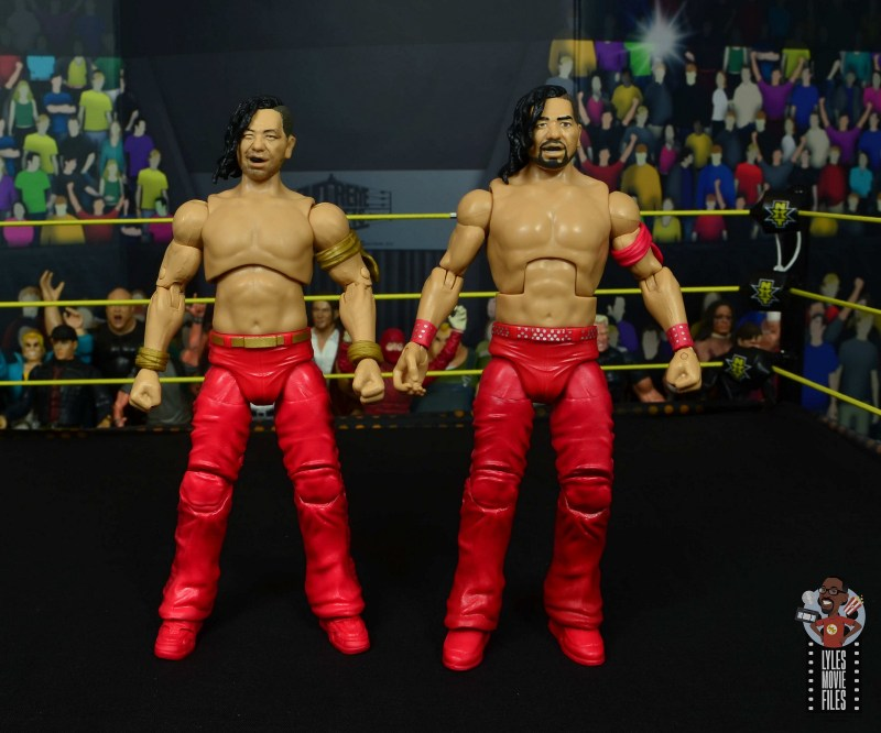 wwe ultimate edition shinsuke nakamura figure review - with definining moments nakamura