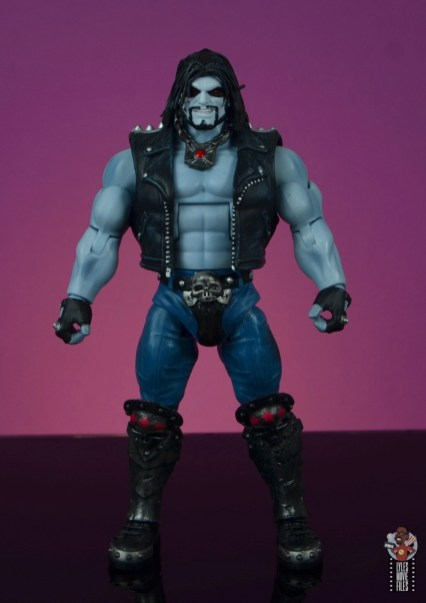 dc multiverse lobo figure review - front