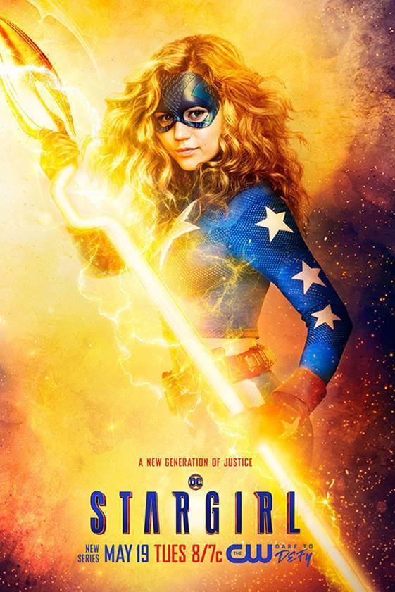 Take a look at the DCs Stargirl Justice Society and