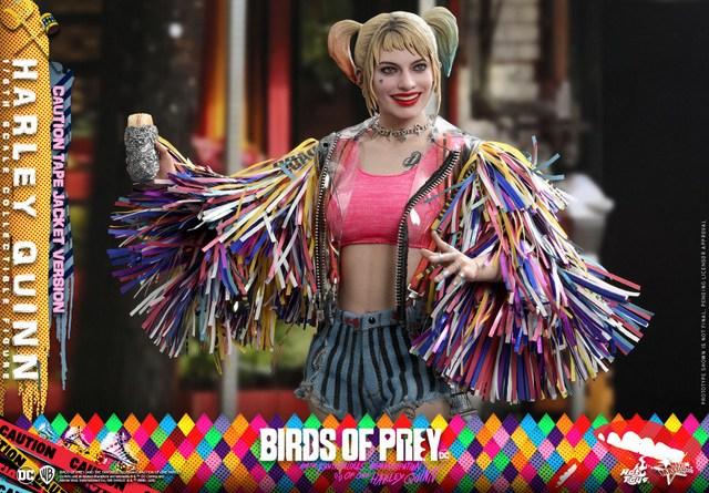 hot toys birds of prey harley quinn figure - main pic