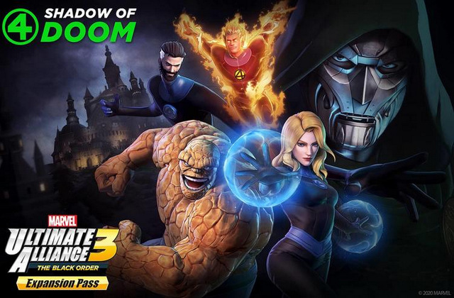 marvel ultimate alliance 3 shadow of doom dlc pack