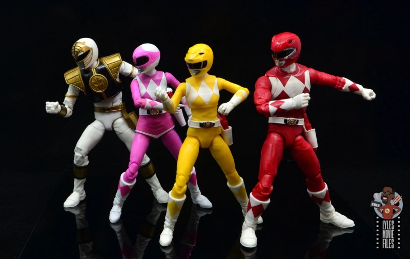 power rangers lightning collection mighy morphin yellow ranger figure review - power rangers ready for battle