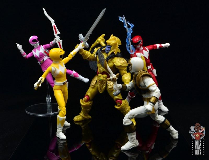 power rangers lightning collection mighy morphin yellow ranger figure review - power rangers vs goldar