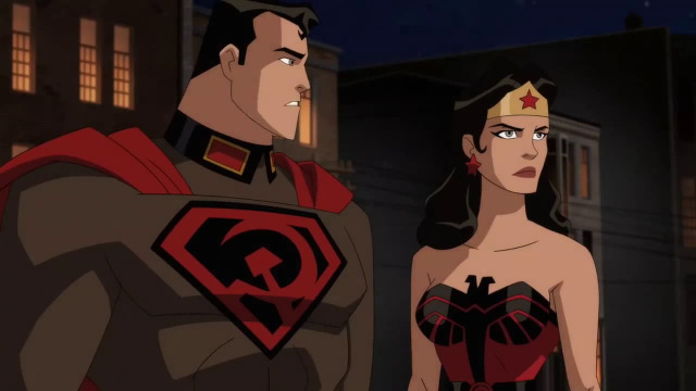 superman red son review - superman and wonder woman