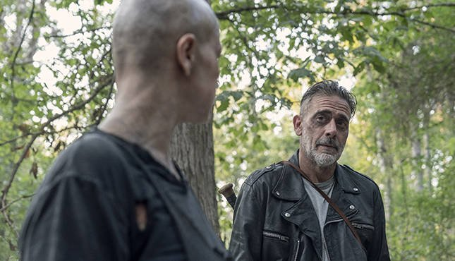 the walking dead morning star review - alpha and negan