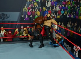 wwe elite 69 bobby lashley figure review - corner clothesline