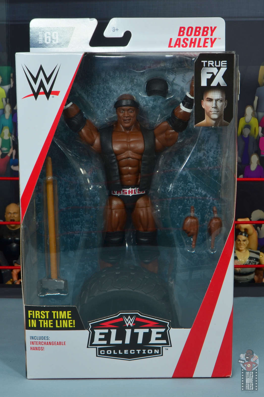 WWE Elite Bobby Lashley Vest Wrestling Figure Accessories Accessory Classic TNA