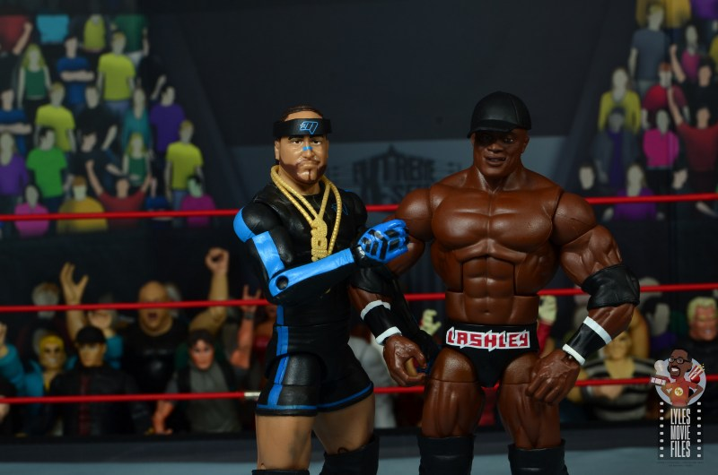 wwe elite 69 bobby lashley figure review - with hat and mvp