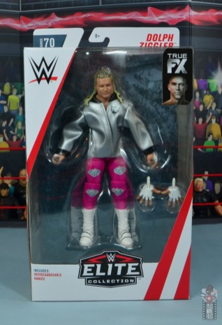 wwe elite 70 dolph ziggler figure review - package front