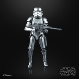 STAR WARS THE BLACK SERIES CARBONIZED COLLECTION 6-INCH STORMTROOPER Figure - oop (2)