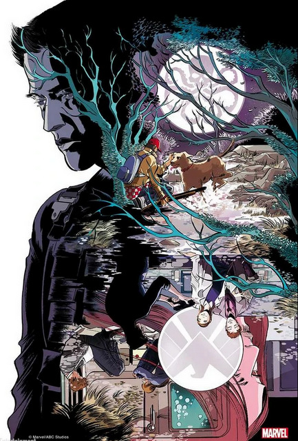 agents of shield ragtag review - marvel comics poster
