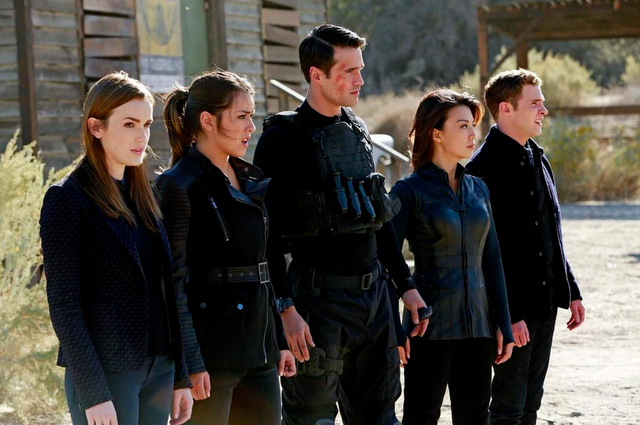 agents of shield the magical place review -simmons, skye, ward, may and fitz