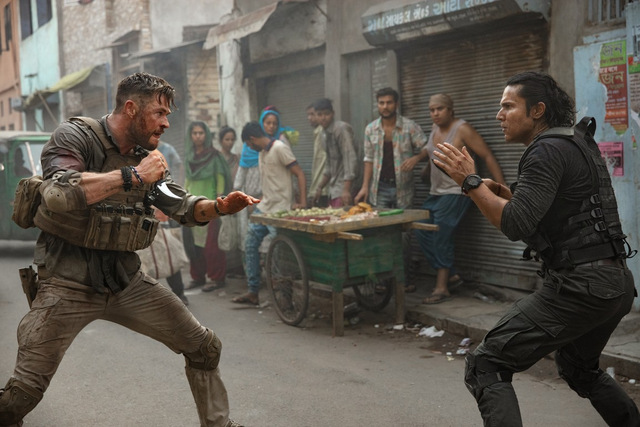 extraction review - chris hemsworth and randeep hooda