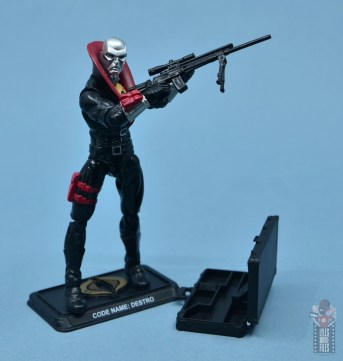 gi joe the eagle's edge figure review set - destro with accessories