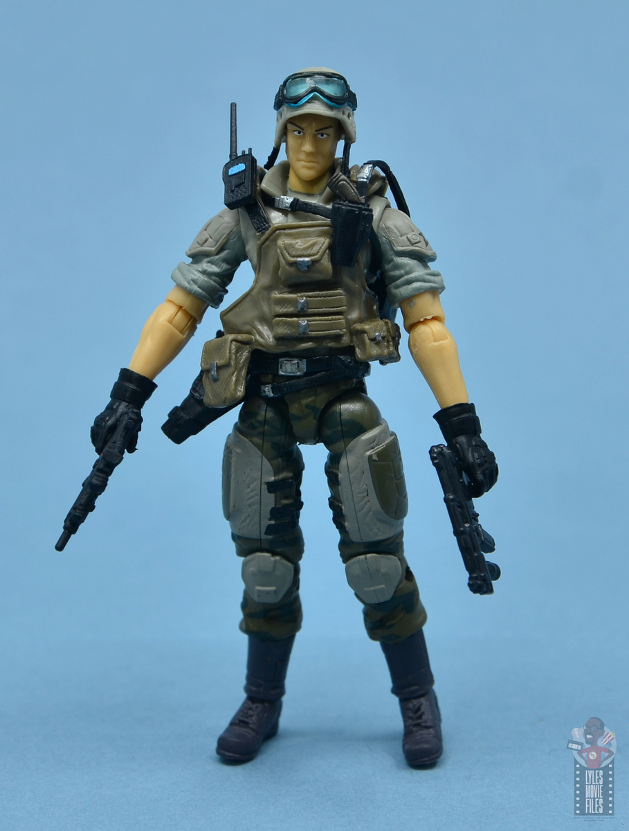 GI Joe arme GUNG HO Paint Ball Gun Original Figure accessoire