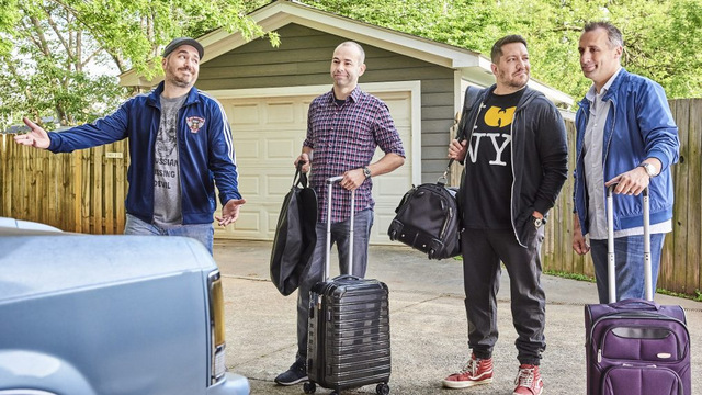 impractical jokers the movie - the jokers get ready for a road trip