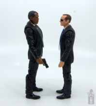 marvel legends captain marvel nick fury figure review - facing agent coulson