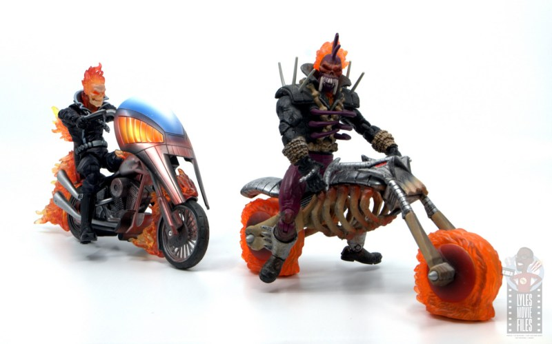 marvel legends ghost rider figure review - chasing vengeance