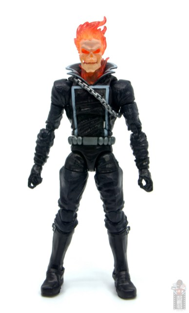 marvel legends ghost rider figure review - front