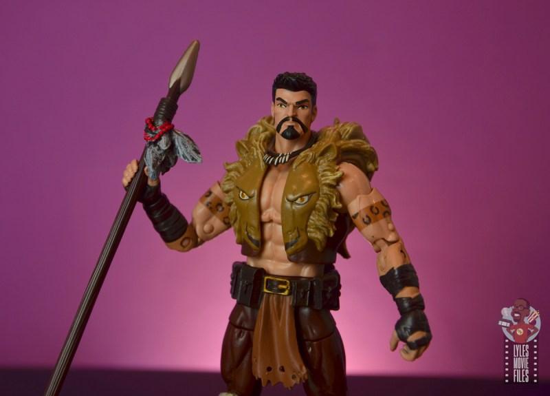marvel legends kraven figure review - raising spear