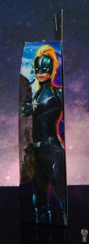 marvel legends starforce captain marvel figure review - package side