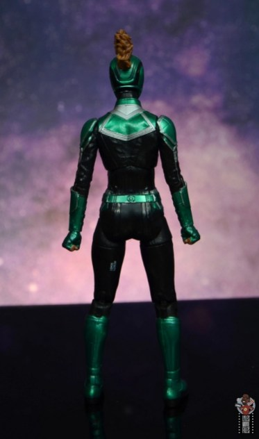 marvel legends starforce captain marvel figure review - rear
