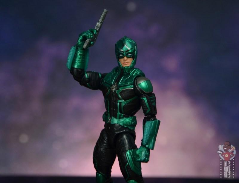 marvel legends yon-rogg figure review - raising blaster