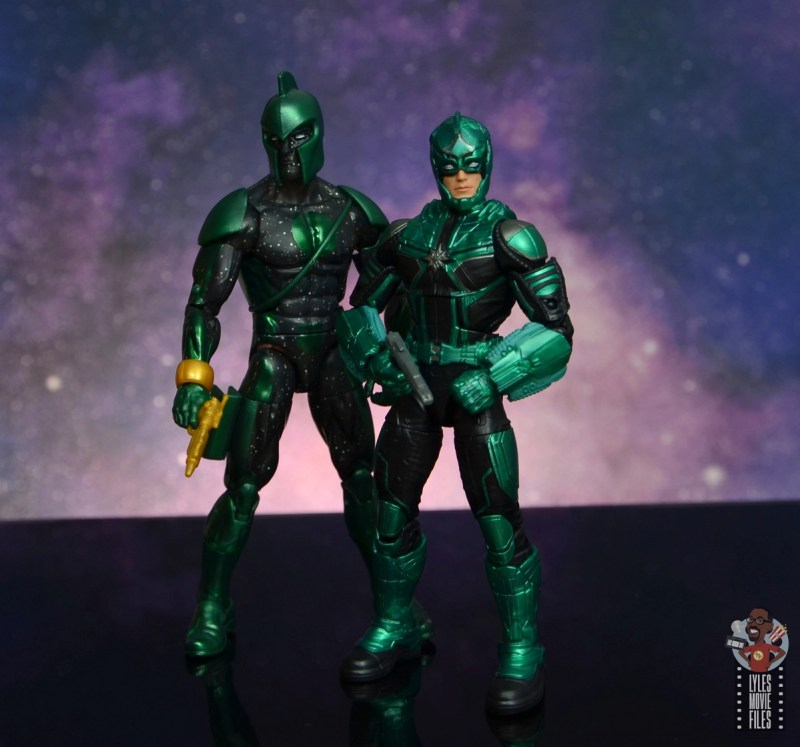marvel legends yon-rogg figure review - with genis-vell