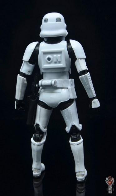 star wars the black series stormtrooper figure review - rear