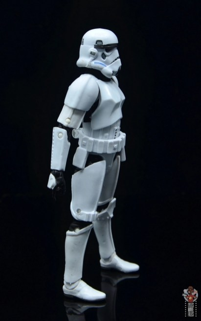 star wars the black series stormtrooper figure review - right side