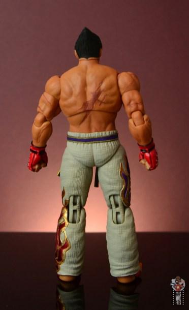 storm collectibles tekken 7 kazuya figure review - rear