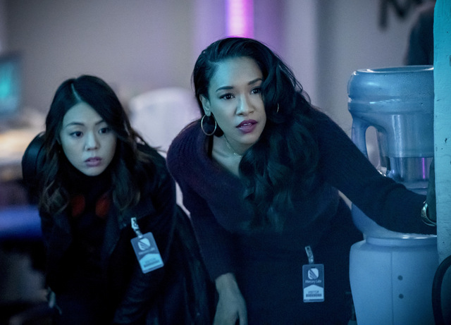 the flash - the exorcism of nash wells review - kamilla and iris