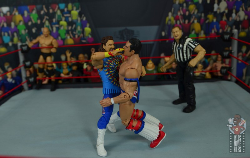 wwe elite #62 dude love figure review - mandible claw to british bulldog-001