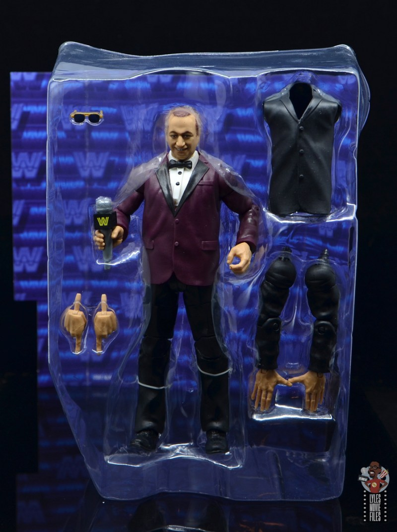 wwe elite 72 gorilla monsoon figure review - with accessories