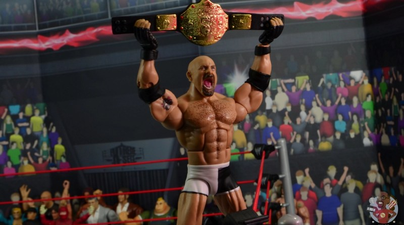 wwe elite #74 goldberg figure review - main pic