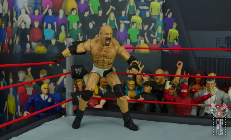 wwe elite #74 goldberg figure review - ready to spear