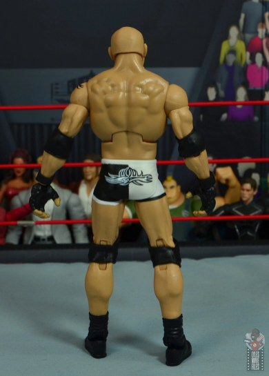 wwe elite #74 goldberg figure review - rear