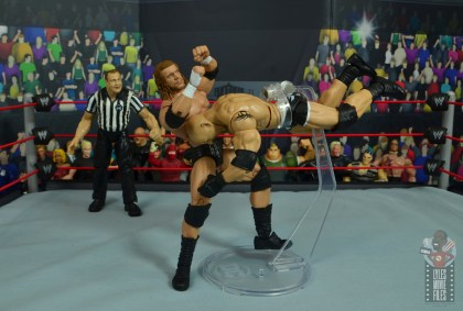 wwe elite #74 goldberg figure review - spearing triple h
