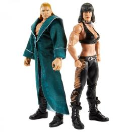 wwe elite collection two pack - triple h and chyna close