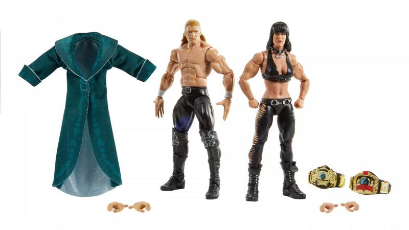wwe elite collection two pack - triple h and chyna
